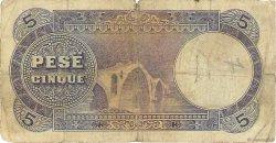 5 Franka Ari ALBANIE  1926 P.02b B