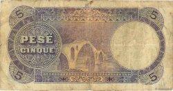 5 Franka Ari ALBANIE  1926 P.02b pr.TB