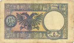 5 Franga ALBANIE  1939 P.06a B