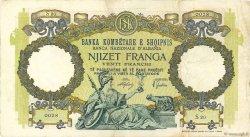 20 Franga ALBANIE  1939 P.07 TTB
