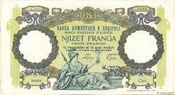 20 Franga ALBANIE  1939 P.07 SPL