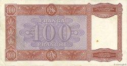 100 Franga ALBANIE  1940 P.08 pr.TTB
