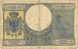 10 Lek ALBANIE  1940 P.11 AB