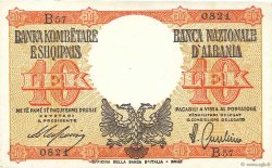 10 Lek ALBANIE  1940 P.11 SPL