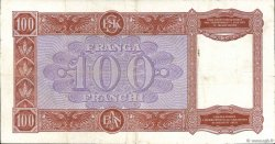 100 Franga ALBANIE  1945 P.14 TTB
