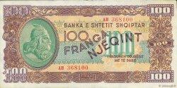 100 Franga ALBANIE  1945 P.17 SPL