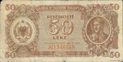 50 Lekë ALBANIE  1947 P.20 B