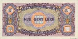100 Lekë ALBANIE  1947 P.21 NEUF