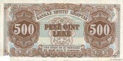 500 Lekë ALBANIE  1947 P.22 TTB
