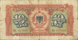 10 Lekë ALBANIE  1949 P.24 pr.TB