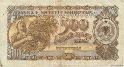 500 Lekë ALBANIE  1949 P.27 TB