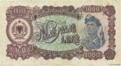 1000 Lekë ALBANIE  1949 P.27A TB+