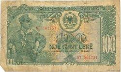 100 Lekë ALBANIE  1957 P.30a B