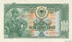 100 Lekë ALBANIE  1957 P.30a NEUF