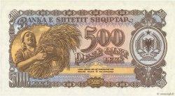500 Lekë ALBANIE  1957 P.31a NEUF