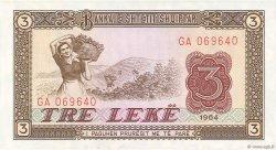 3 Lekë ALBANIE  1964 P.34a NEUF