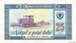 25 Lekë ALBANIE  1964 P.37a NEUF