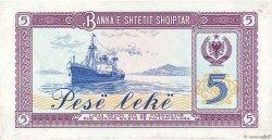 5 Lekë ALBANIE  1976 P.42a SPL