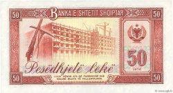 50 Lekë ALBANIE  1976 P.45s2 SPL
