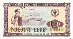 100 Lekë ALBANIE  1976 P.46a pr.NEUF