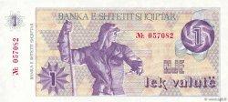 1 Lek Valutë ALBANIE  1992 P.48A NEUF