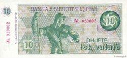 10 Lek Valutë ALBANIE  1992 P.49a NEUF