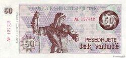 50 Lek Valutë ALBANIE  1992 P.50a NEUF