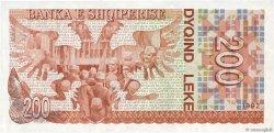 200 Lekë ALBANIE  1992 P.52a NEUF