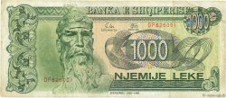 1000 Lekë ALBANIE  1992 P.54a TB