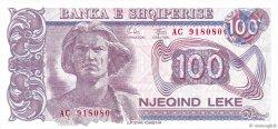 100 Lekë ALBANIE  1993 P.55a NEUF