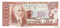 200 Lekë ALBANIE  1994 P.56a pr.NEUF