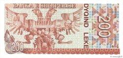 200 Lekë ALBANIE  1996 P.59a NEUF