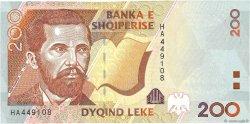 200 Lekë ALBANIE  1996 P.63a pr.NEUF