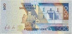 500 Lekë ALBANIE  1996 P.64a SUP