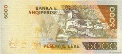 5000 Lekë ALBANIE  1996 P.66 SUP