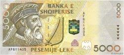 5000 Lekë ALBANIE  1996 P.66 NEUF