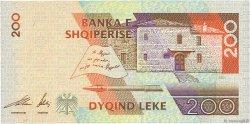 200 Lekë ALBANIE  2001 P.67 NEUF