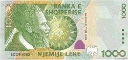 1000 Lekë ALBANIE  2001 P.69 NEUF