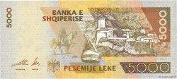5000 Lekë ALBANIE  2001 P.70a NEUF