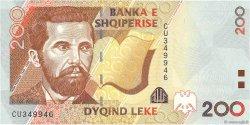 200 Lekë ALBANIE  2007 P.71 NEUF