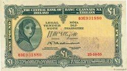 1 Pound IRLANDE  1955 P.057c TTB