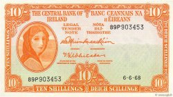 10 Shillings IRLANDE  1968 P.063a NEUF
