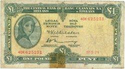 1 Pound IRLANDE  1974 P.064c B