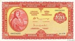 20 Pounds IRLANDE  1976 P.067c SPL