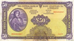 50 Pounds IRLANDE  1977 P.068c TB+
