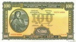 100 Pounds IRLANDE  1975 P.069b pr.NEUF