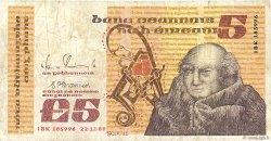 5 Pounds IRLANDE  1989 P.071e B+