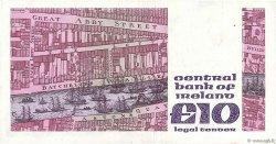 10 Pounds IRLANDE  1986 P.072b TTB