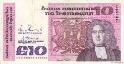 10 Pounds IRLANDE  1990 P.072c TTB