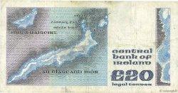 20 Pounds IRLANDE  1983 P.073b TB